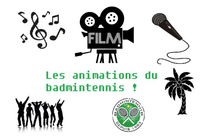 Animations badmintennis