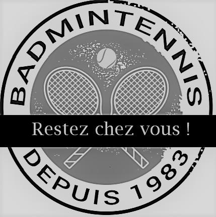 Badmintennis logo covid 19